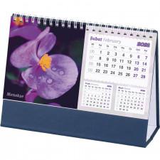 AMT-05-TDL Çiçekler Masa Takvimi