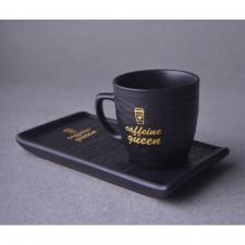 Menekşe Seramik Kahve Seti